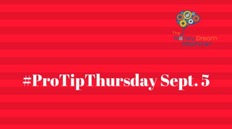 ProTipThursday Sept. 5- Your Business is to Find the Solution