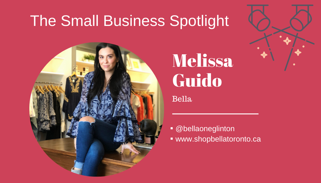 Small Business Spotlight – Melissa Guido of Bella