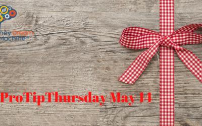 #ProTipThursday May 14
