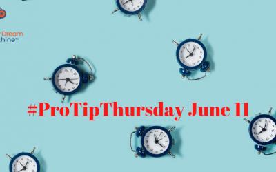 #ProTip Thursday June 11